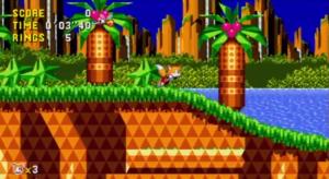Muito bacana incluirem o Tails como personagem jogável.