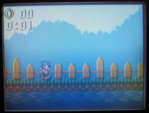 Começando a Bridge Zone no Game Gear.