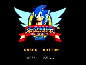 Tela de abertura do jogo