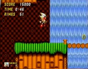 Ouriço + Água Oxigenada = Super Sonic