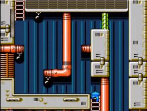 Tão tranquilo que o Mega Man até dormiu. Hey... HEY... ACORDA AÍ, MEGA!