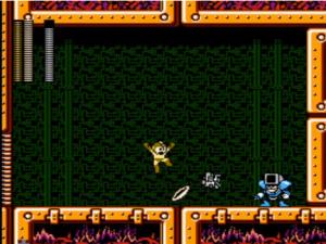 A arma do Ring Man aqui ajuda, mas eu ainda não tinha derrotado o robô preferido do Sonic.