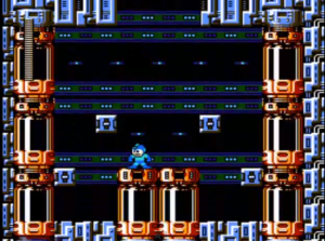 Sala dos robôs.