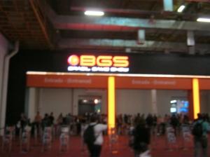 Entrada da BGS