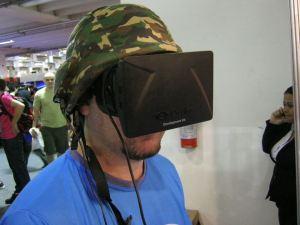 Oculus Rift e Comrad Helmet