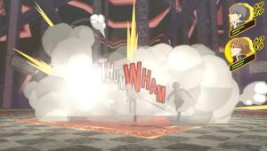 Em determinadas situações, é possível espancar todos os inimigos com todos os personagens de uma vez só. Vejam a pancadaria que rola.