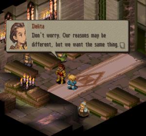 Final Fantasy Tactics tem uma pancada de personagens, uma trama com brigas familiares, guerra, traições, entre muitas outras coisas. Muito embora ele seja lembrado mais por sua jogabilidade.