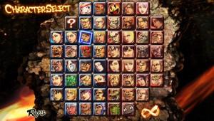"""Street Fighter x Tekken: perguntem se todos estes personagens são desbloqueáveis através de jogabilidade. Claro que não! Skins extras não inclusos também! Devo classificar o jogo como """"casual"""" ou algo assim?"""
