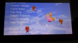 Luigi salvando a princesa. Por que não?