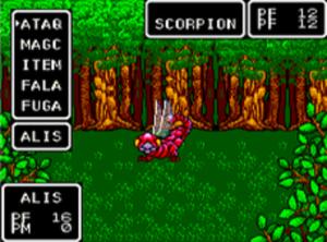 Pode acreditar, mas tem dois Scorpions aqui, embora a imagem só mostre um.
