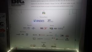 O festival teve apoio de diversas entidades. Clique para ampliar.
