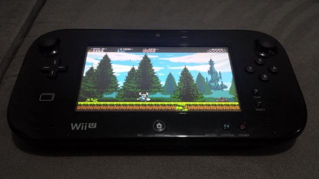 Olha o Gamepad aí! Com um baita jogo na tela!