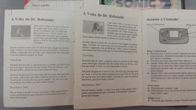 Estão aí os manuais de Master System e Game Gear que não me deixam mentir.