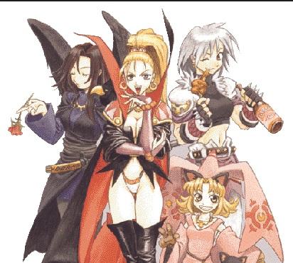 Marjoly e sua família de bruxas