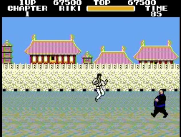 Um dos subchefes do jogo. Ele sempre me lembrou o Dudu do Popeye não sei porque. Em Hokuto no Ken, é necessário um certo macete para derrotá-lo.
