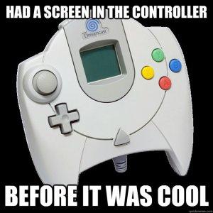 Diga-se de passagem, o Dreamcast quer ser hipster sozinho, não? Por esta e outras...
