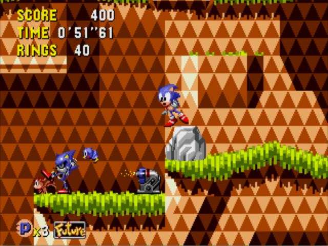 A cena é tão cruel que até o Sonic ficou espantado.