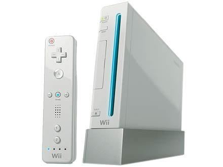 Console na versão branca.