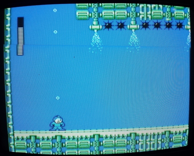 Mega Man soltou pum na água?