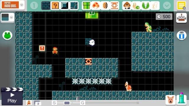 No Gamepad durante a edição.