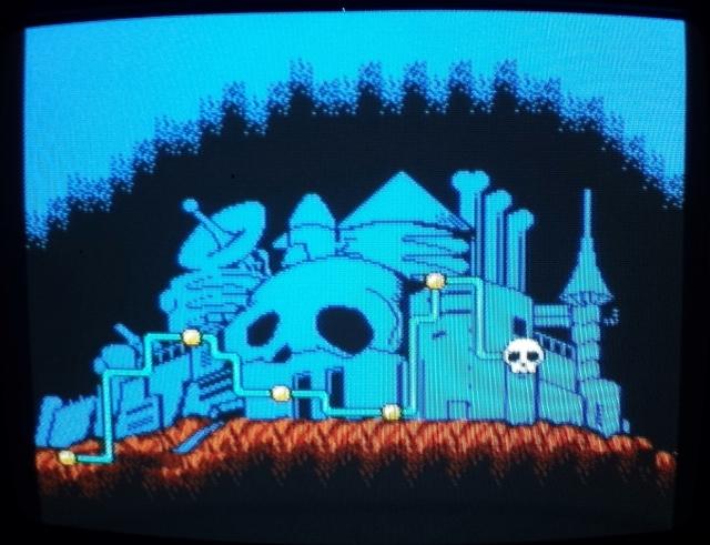 Finalmente cheguei na caveirinha, hora de terminar o jogo!