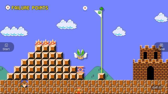 Uma das coisas bacanas de Super Mario Maker é ver onde as pessoas estão morrendo. Esse que morreu quase na bandeira me arrancou gargalhadas, fiquei imaginando a reação da pessoa no momento.