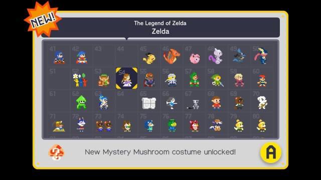 Ué, mas eu já tinha desbloqueado o Zelda...