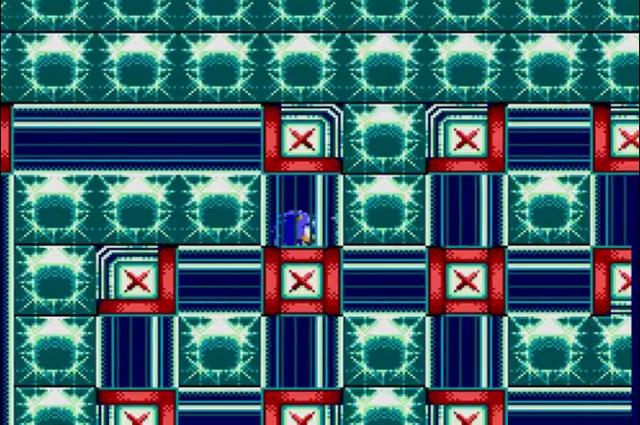 Tubulações e mais tubulações. Isso aqui tá parecendo mais outro jogo do que Sonic.