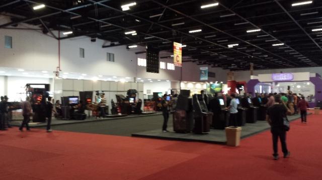 Área dos Arcades.
