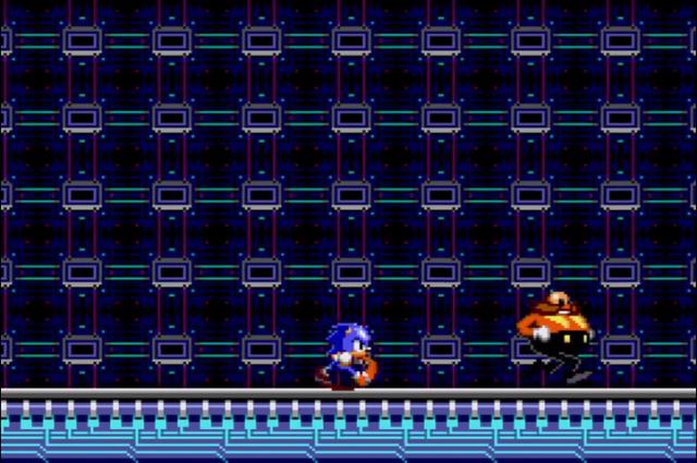 Um é o personagem mais rápido dos games. O outro é o Sonic.