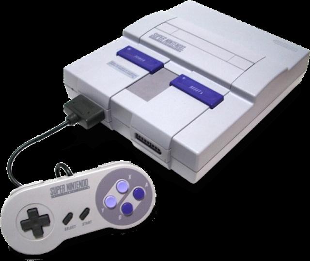 Super Nintendo: a versão americana.