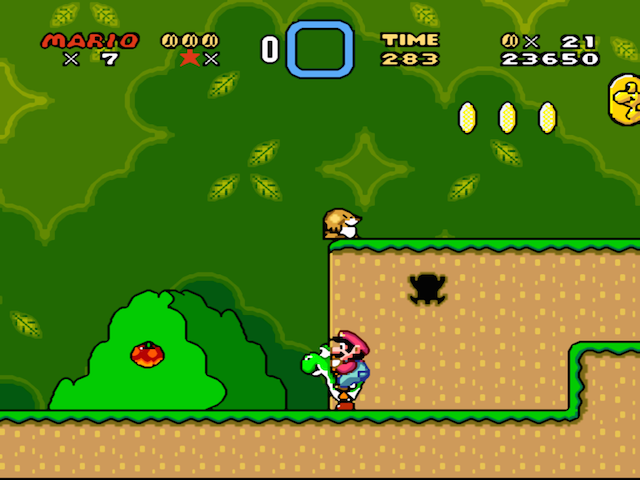 Super Mario World: clássico absoluto do SNES.