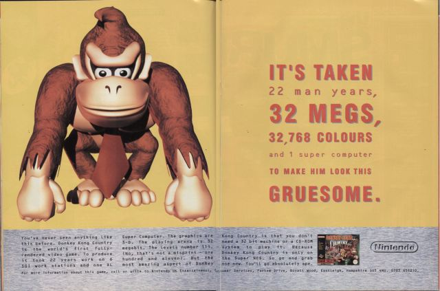 Propaganda do jogo na época. Tudo sobre as incríveis tecnologias do game.
