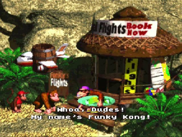 Encontro com o Funky Kong. Descolado ao extremo!