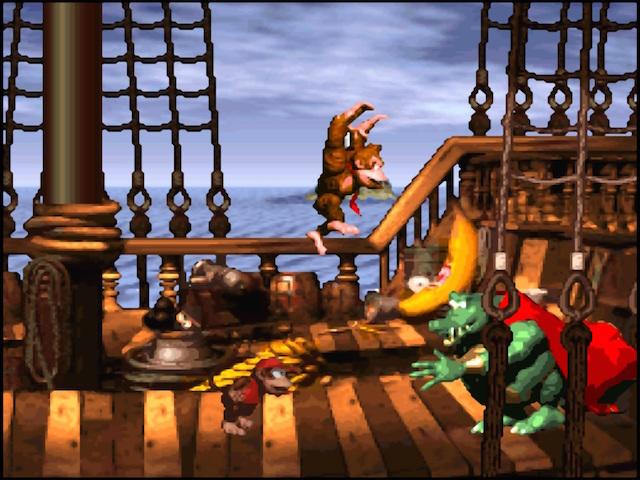 Batalha contra o chefão final do jogo.