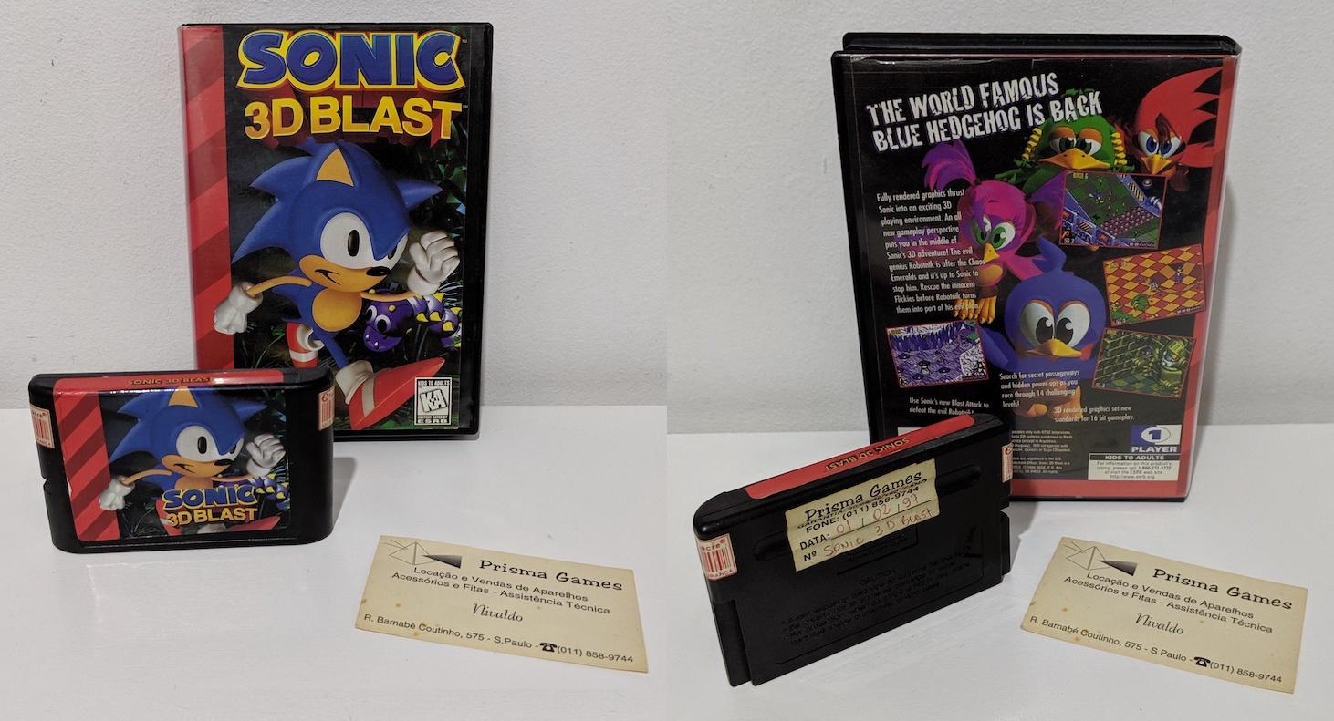 Maratona Sonic: Sonic 3D Blast (Mega Drive / Saturn / PC