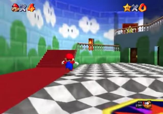 03-Super-Mario-64_-_Castelo